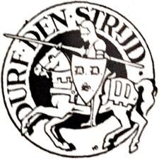 De beginletters van de krant verwerkt in het logo ervan